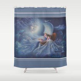 Wynken, Blynken, and Nod Shower Curtain