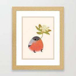 Eurasian bullfinch 2 Framed Art Print
