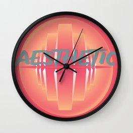 Dream Aesthetic Wall Clock