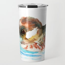 Duck, Bufflehead Duck baby Wild Duck Travel Mug