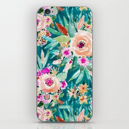 GOOD LIFE Colorful Floral iPhone Skin