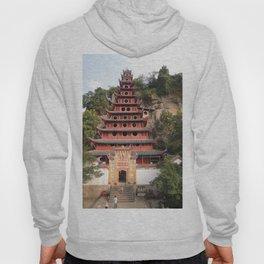 Shi Bao Zhai Buddhish temple Pagoda | Pagode Temple Buddhish Hoody