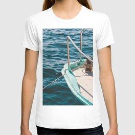 BOAT - WATER - SEA - PHOTOGRAPHY T-shirt