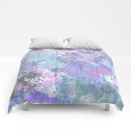 Dull Splatter Comforters