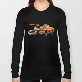General Lee Dodge Charger Long Sleeve T-shirt