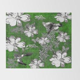 Birds Throw Blanket