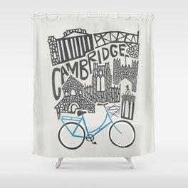 Cambridge Cityscape Shower Curtain