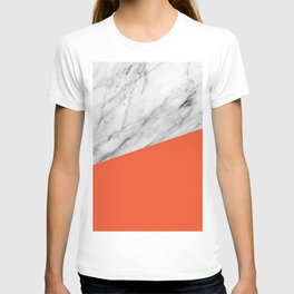 Marble and Flame Color T-shirt