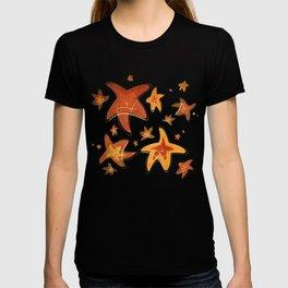 Starry Starfish Night T-shirt