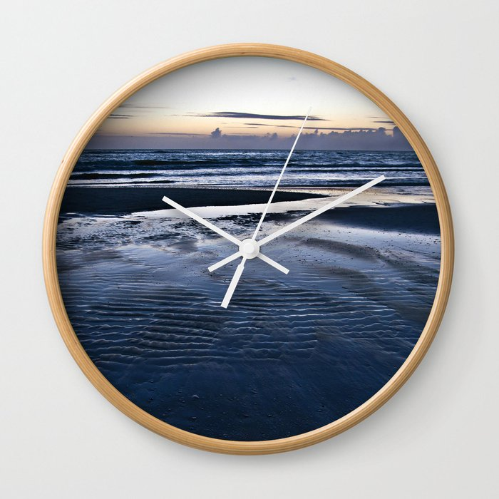 Blue Call of the Sea Wall Clock