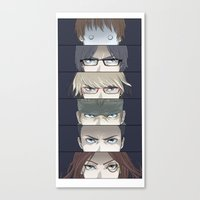 persona Canvas Prints featuring Persona LNC by soo-da