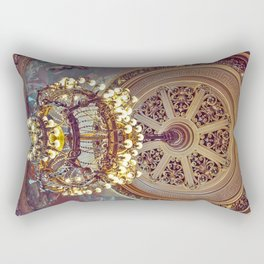 Victorian Painted Ceiling Rectangular Pillow
