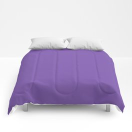 From The Crayon Box – Royal Purple - Bright Purple Solid Color Comforters