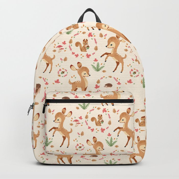 forest animals pattern Backpack