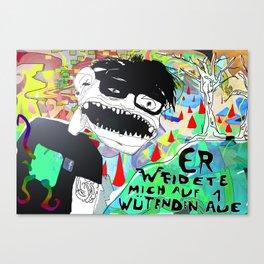 Die wütende Aue. Canvas Print