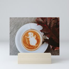 Halloween Latte Mini Art Print