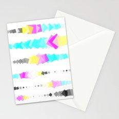 Printer Squares Stationery Cards