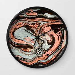 Marble texture 18 Wall Clock