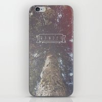 wander iPhone & iPod Skins featuring Wander by Christine VanFonda
