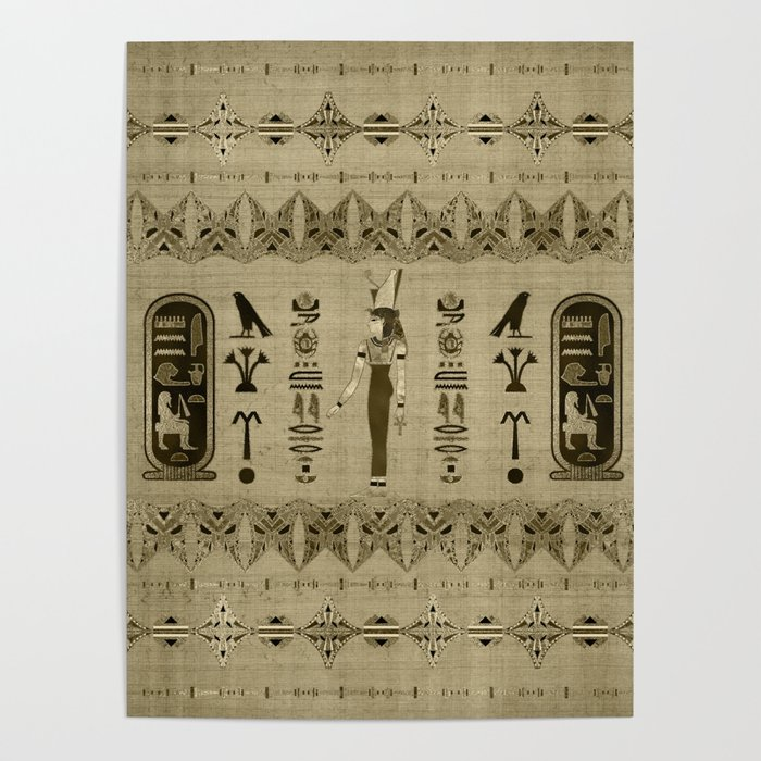 Egyptian Mut Ornament Poster