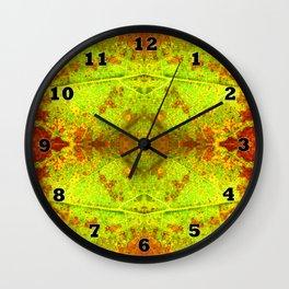 Macro Leaf no 5 Wall Clock