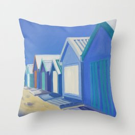 Summer Shacks #2 Throw Pillow