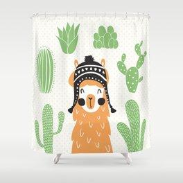 Llam Shower Curtain