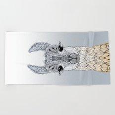 BABY LAMA (CRIA) Beach Towel