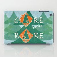 rare iPad Cases featuring Care for the rare by SilviaGancheva