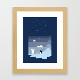 now you see me Framed Art Print