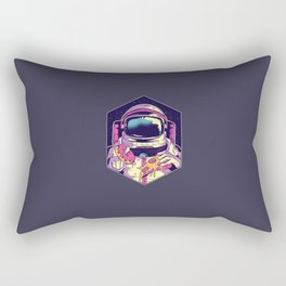 Astronaut food Rectangular Pillow