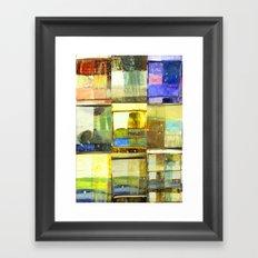 tile of non-inhibition Framed Art Print