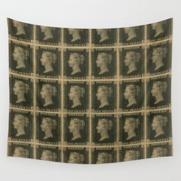 Penny Black Postage Wall Tapestry