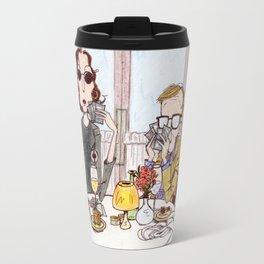 Manhattan Murder Mystery Travel Mug