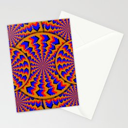 Hacking Visual System Optical Illusion Stationery Cards
