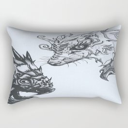 Skyy or Earth Rectangular Pillow