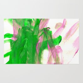 First paint abstract by Keira Rug