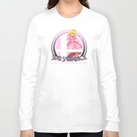 super smash bros Long Sleeve T-shirts featuring Peach - Super Smash Bros. by Donkey Inferno