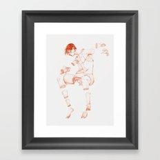 The Beast Inside 1 Framed Art Print