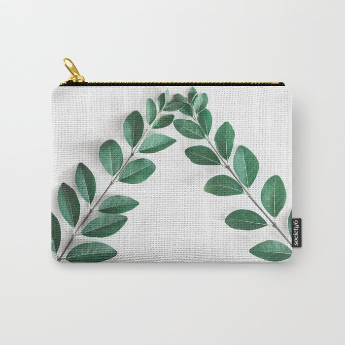 Minimal Green 2 Carry-All Pouch