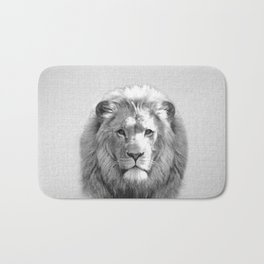 Lion - Black & White Bath Mat