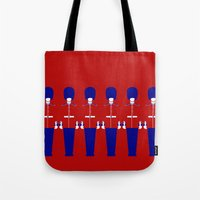 uk Tote Bags featuring UK by Marcus Wild