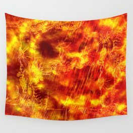Fire of the Deep Sea. Wall Tapestry