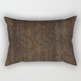 Smoked Etimoe Wood Rectangular Pillow