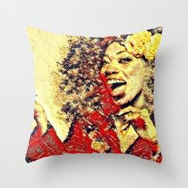 Ebony Joy Throw Pillow