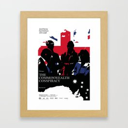 THE COMMONWEALTH CONSPIRACY Framed Art Print