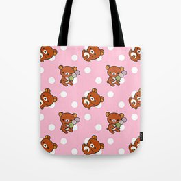 Cute Bear Tote Bag