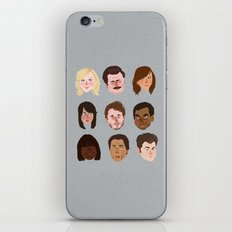 Parks and Rec iPhone & iPod Skin