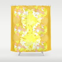 botanical Shower Curtains featuring Botanical by Ingrid Castile