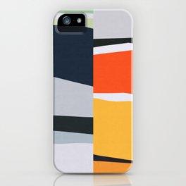 Marble geometry I iPhone Case
